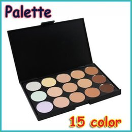 Wholesale Swiss Post - Wholesale-Hot Sale Special Professional 15 Concealer Facial Care Camouflage Makeup Eyeshadow Palette can send with swiss post