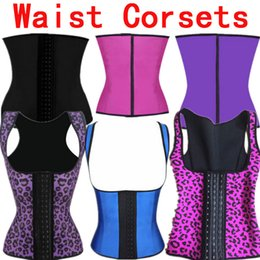 Wholesale White Latex Clothing - Wholesale-Latex Waist Trainer Waist Training Corsets Women Slimming Body Shaper Latex Waist Cincher Plus Size Womens Clothing 4XL 5XL 6XL