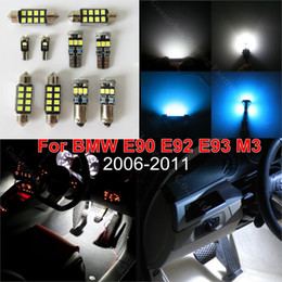 Wholesale Bmw E91 - 18pcs Canbus Car LED Reading Courtesy Trunk Interior Lighting Pack Kit for BMW E90 E91 2006 - 2010 Sedan Coupe 328i 335i M3 330i