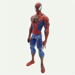 Wholesale Amazing Spiderman 11 - Anime superhero spiderman The Amazing Spider man doll pvc Action Figure boy model toys birthday gift 15cm