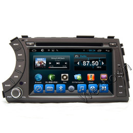 Wholesale Dvd Actyon - Touch screen navigation for car dvd built in radio rds mp3 bluetooth touchscreen for Ssangyong Kyron Actyon