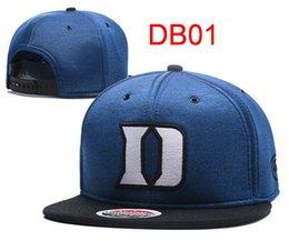 Wholesale Wholesale College Basketball Caps - Hot Sale 2017 New Duke Blue Devils Basketball Caps Snapbacks Hats USA College Cartoon Logo Adjustable Alabama FootBall Caps Fashion Hip Hop