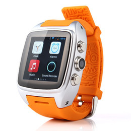 Wholesale Mp3 Player Fashionable 4gb - 2015 Most Fashionable X1 Android Smart Watch with GPS+3G+WiFi+GPRS Bluetooth Watch for android phone