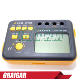 Wholesale Only Professional - 100% Original New Generation Professional VICTOR 4105A Digital Earth Ground Resistance Tester 200V 0.1~2000 Ohm 2%