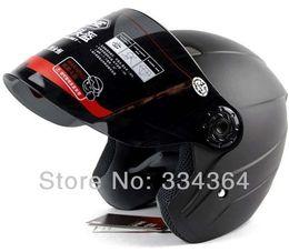 Wholesale Motor Moto Scooter - Wholesale-Most Popular Half helmet motorbike motocross motor helmets cross motorcycle racing moto scooter helmet free shipping YH-837