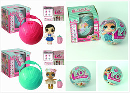 Wholesale Mini Seven - LOL Surprise Doll Lil Sisters Series 2 Lets Be Friends 10cm Seven Layers Action Figures Toys Baby Doll Kids Gifts With Retail Box