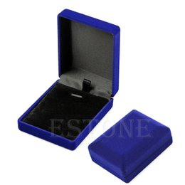 Wholesale Wholesale Cotton Filled Jewelry Boxes - Wholesale-1pc Useful Cool Nice Necklace Jewelry Boxes Surprise Gift Box Cotton Filled Box