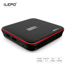 64 bit android tv Promo Codes - M8S Pro Amlogic S905W 2GB 16GB Android 7.1 TV Box 64 bit Stalker Smart Media Player IPTV Box