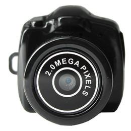 Wholesale Mini Web Cam Recorder - Mini HD Y2000 Video Camera Small Mini Pocket DV DVR Camcorder Recorder Spy Hidden Web Cam