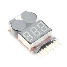 Original Vistapower 1-8S Indicateur à affichage numérique RC Testeur de batterie Lipo Li-ion Alarme de basse tension Alarme $ 18no track ? partir de fabricateur