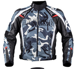 Wholesale Armor Shoulders - DUHAN Waterproof Motorcycle Riding Clothes   Shoulder Armor Aluminum Motorcycle Jacket Drop Resistance Clothing Male Bicycle Jacket