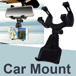 rückspiegelhalter Rabatt Autohalterung Autohalterung für Rückspiegelhalterung für das iPhone X / 8/8 plus Samsung GPS / PDA / MP3 OTH686