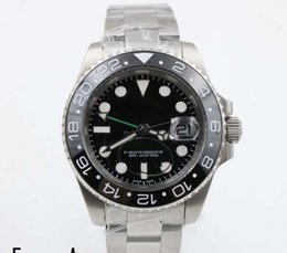 Wholesale Free Dive Watch - Luxury WATCHES ll New sprot Diving men Mechaincal Stainless Steel wrist watches Ceramic bezel Luxury style Limited+ free ship MAN Wristwatch