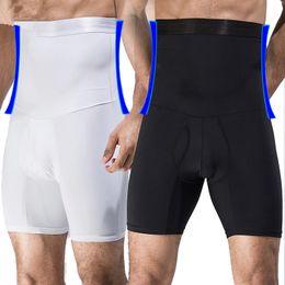 Argentina Hombres entrenador de cintura alta Big Belly Control bragas boyshort Tummy Trimmer Corset Hold Estómago Body Shaper Cinturones calzoncillos Ropa interior de adelgazamiento Suministro