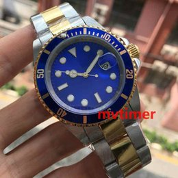 Wholesale Cheap Mens Watches Brands - Cheap Black Green Blue New Luxury Brand Men Automatic Stainless Steel Mechanical Sport Hot Sale Watch box Fashion Casual mens Watches master