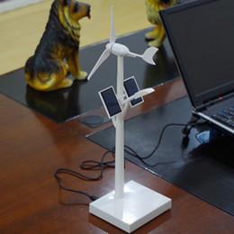 Wholesale Wind Turbine Free - 2016 new Outdoor Lighting 1pcs*LEDs ABS solar energy wind turbine generators powered Solar LED light,Free shipping