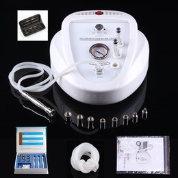 Wholesale Microdermabrasion Beauty Machine - New Skin Rejuvenation Diamond Microdermabrasion Dermabrasion Peeling Beauty SPA Machine For Anti-aging Pigment Removal+Blackhead Removal Kit