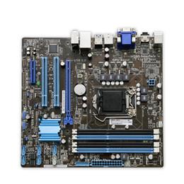 Wholesale Asus Lga 1155 - P8B75-M DP Original Used Desktop Motherboard B75 Socket LGA 1155 i3 i5 i7 DDR3 SATA3 USB3.0 uATX On Sale