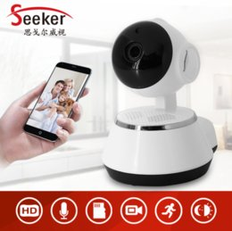 Wholesale Baby Monitor Ip Way - Home Security IP Camera WiFi 720P Wireless CCTV Camera 1.0MP Baby Monitor Two Way Audio P2P Cloud