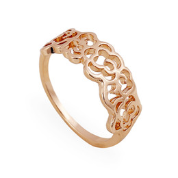 Wholesale Cheap Stones For Rings - Hollow Flower Celtic Cocktail Rings For women 925 Silver knuckle Rings Cheap Price Elegant Lace Rings 24pcs Lot GR13