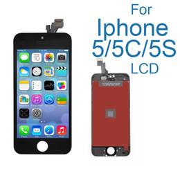 Iphone 5c lcd digitizer aaa en Ligne-Écran AAA pour Apple iphone 5 5s 5c écran LCD assemblée écran tactile avec numériseur de verre Pas de pixels morts téléphone pièces écran LCD