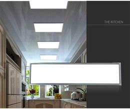 Wholesale dimmable led panel light suspended - LED panel Lights 36W 42W 48W 54W dimmable 300x1200 mm led ceiling light lamp 1x4 ft LED panels CE UL CSA