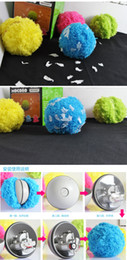 Wholesale Kids Hair Balls - Authentic Mocoro hair ball Jun cute sweeping robots and automatic vacuum cleaners are also pet toys pet companion free shipping