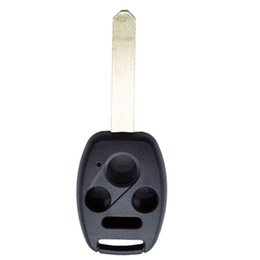 Wholesale key for honda civic - New 4 Buttons Car Key Case Shell for 2006 2007 2008 2009 Honda Accord CR-V Ridgeline Civic Replacement Remote Key Case Fob