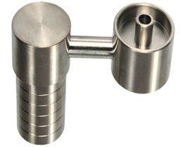 Argentina Domeless Titanium Nail se adapta a ambos 14 mm 18 mm GR2 uñas de titanio hembra conjunta para pipa de agua de vidrio Bong fumar Suministro