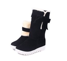 Wholesale Womens Red Short Boots - High Quality Women's Classic short style tall Boots Womens boots Boot Snow boots Winter boots leather boots Hiking boots Drop Shipping