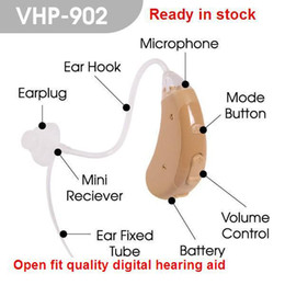 Wholesale Hearing Aid Voice Amplifier - adjustable Open fit digital wireless Hearing Aid VHP-902 sound amplifier digital Hearing Aid for personal ear voice
