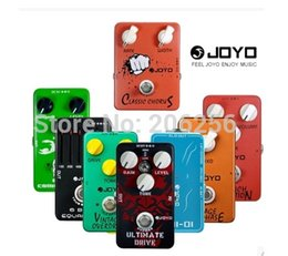 Wholesale Guitar Pedal Joyo - 2015 Guitar Pedals JOYO Effect Wholesale Cheap Any 4pcs Bulk JF 01 02 03 to JF 39 Overdrive Distortion Chorus Phase Delay etc.