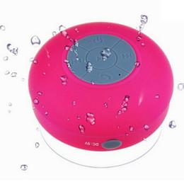 Canada Mini haut-parleur étanche bluetooth ventouse nouveau style haut-parleur sans fil avec ventouse portable BTS-06 ventouse woofer MIS035 cheap bluetooth speakers woofer Offre
