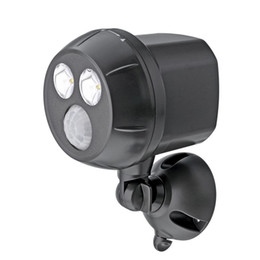 Wholesale bulb motion sensor - Ultra Bright 300-Lumen Waterproof Wireless Battery Powered LED Spotlight with Motion Sensor (2*3w Led Bulbs, Wireless) Wall Lamps 1 2 Led