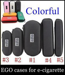 Wholesale Leather Pouch For Electronic Cigarette - 2015 Car Styling Ego Cases And Bags Electronic Cigarette Zipper Case Pouch Bag E-cig Box for Ce4 Ce5 Mt3 Atomizer Evod Battery Kit Fj003