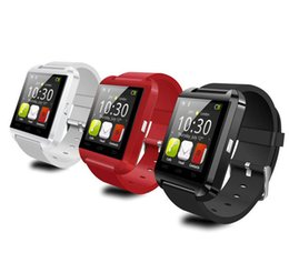 Wholesale Android Note3 - Bluetooth U8 Smart Watch Wrist Watches With Altimeter for iPhone 4S 5S Samsung S4 S5 Note3 HTC Android Phone In Gift Box