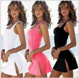 Wholesale Cheap Piece Swimsuits - HOT NEW arrive Summer beachwear Fashion Sexy one piece swimsuit Womens Bikini Swimwear Real cheap price Class 5 Color Free shipping