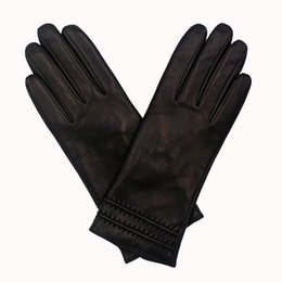 Wholesale Women S Fashion Winter Gloves - High Quality Ladies Leather Gloves, Sheepskin Gloves, Lamb Nappa Genuine Leather Gloves