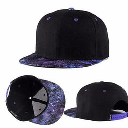 Wholesale Women Galaxy Space - Wholesale-Fashion Men Women Galaxy Space Black Snapback Hiphop Hat Adjustable Baseball Cap