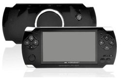 Wholesale 8gb mp5 player tv out - Hot sales! 8GB 4.3 Inch Handheld Game Player MP3 MP4 MP5 Player Video FM Camera Portable Game Console