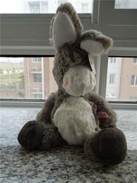 Wholesale Nici Soft Toys Free Shipping - Free shipping NICI donkey plush toy NICI donkey soft stuffed toy 45cm big size