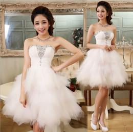 Nueva moda de vestidos de noche con abalorios novia vestido corto bola fiesta de baile vestido de fiesta / graduación vestido formal desde fabricantes