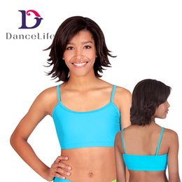 Wholesale China Wholesale Bras - Free shiping Adult camisole bra dance top A2423 Discount bra ballet tops dancewear Supplier China