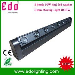 Wholesale Beam Laser Club Lighting - Wholesale-2015 New Dmx Controller Laser Light free Shipping 8x10w Colors Rgbw 4-in-1 Led Beam Bar Moving Head dmx dj Lighting disco Club