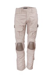 Wholesale Hunting Knee Pants - TACTICAL BDU GEN2 COMBAT PANTS WITH KNEE PADS AIRSOFT HUNTING PANTS khaki-36253