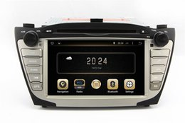 Wholesale Hyundai Tucson Gps Dvd - Android 4.4 Car DVD Player for Hyundai Tucson IX35 2009-2013 with GPS Navigation Radio Bluetooth USB AUX MP3 WiFi Head Unit