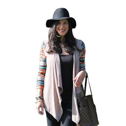 Wholesale Aztec Xl - Wholesale-2015 New Aztec sleeve women Cardigan Female Long Asymmetrical Knitted Sweater casual Cardigans Sweaters Air conditioning Shirts