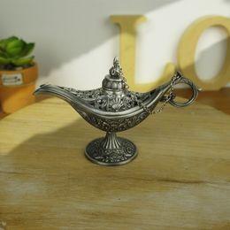 Wholesale Tea One Wholesale - fairy tale Aladdin Magic Lamp Colored is suing Lamps Tea Pot Genie Lamp Vintage Retro toys for children Home Decoration gifts