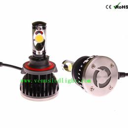 Wholesale International Light Bulbs - H7 H8 H9 H11 H4 9004 9007 H13 Headlight Kit Auto Car Vehicle Headlight Super White 5000K 60W 5200LM Replace Halogen Bulb Lamp