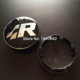 Wholesale Vw R Line Logo - High quality 4pcs Volkswagen Resin SR logo Wheel Center Caps Rim VW Hub Caps EMBLEM for VW R-Line Golf R32 Passat R36